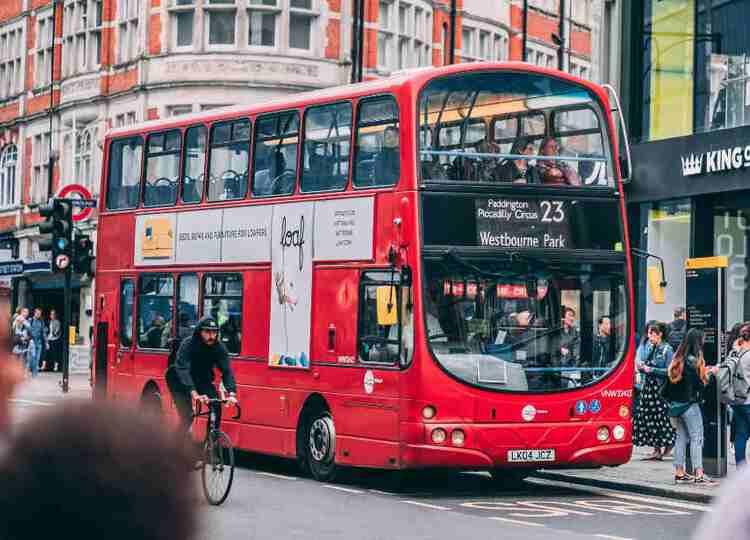bus advertising ideas